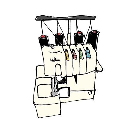 overlock-naehmaschine-illustration